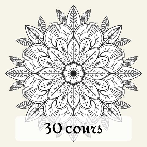 Carte de 30 cours Bhakti Yoga