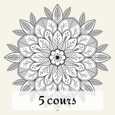Carte de 5 cours Bhakti Yoga